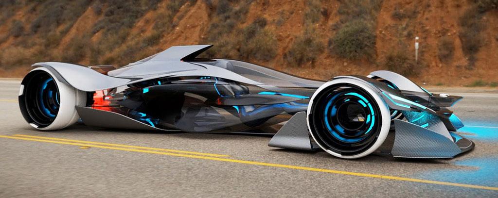 Infiniti Design Team Dreams Big with Futuristic Concept Car