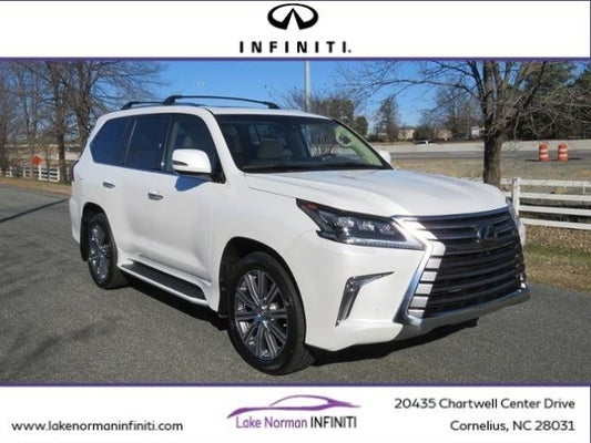 used 2017 lexus lx 570 for sale in charlotte | lake norman infiniti