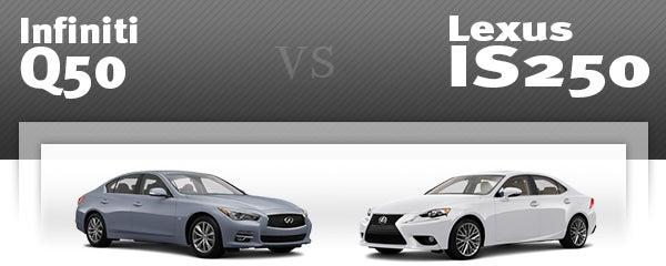 Infiniti Q50 Vs Lexus Is 350